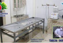 Photo of Humberto Burgos, instaló el primer laboratorio de tanatopraxia en Bolivia.