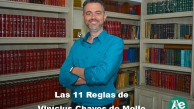 Photo of Las 11 Reglas de Vinícius Chaves de Mello